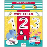 Write It, Wipe It: 123 Wipe-Clean Book