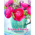 Pink Floral Friends and Family Organiser image number 1