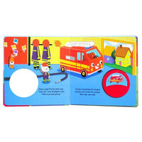 The Red Fire Engine Big Button Sound Book