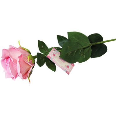 Luxury Artificial Pink Rose image number 1