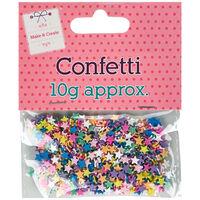 Plastic Star Confetti
