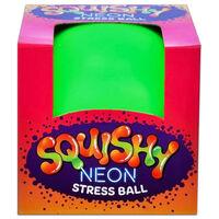 Squishy Neon Stress Ball: Assorted
