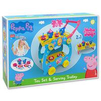 Peppa Pig 2 in 1 Tea Trolley