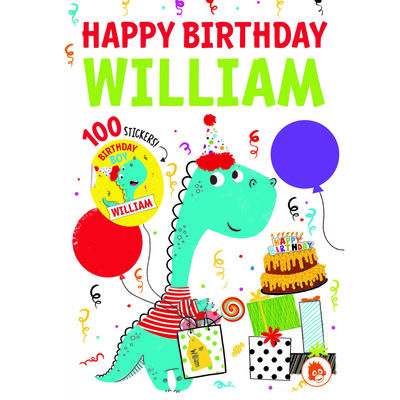 Happy Birthday William image number 1