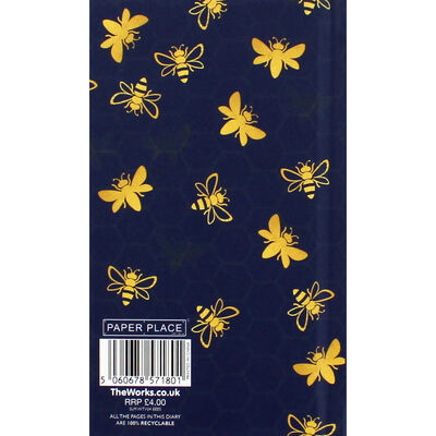 Slim Bees Week to View 2020-21 Academic Diary image number 3