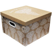 Want to Remember Elephant Collapsible Storage Box
