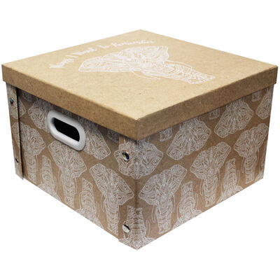 Want to Remember Elephant Collapsible Storage Box image number 1