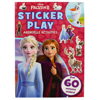 Disney Frozen 2 Sticker Play Arendell Activities