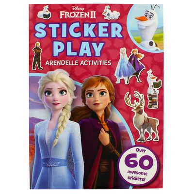 Disney Frozen 2 Sticker Play Arendell Activities image number 1