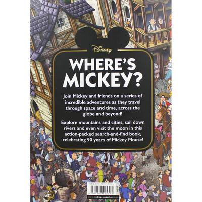 Where's Mickey?: A Search and Find Activity Book image number 3