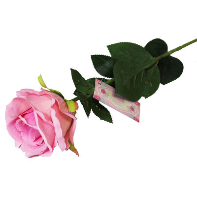 Luxury Artificial Pink Rose image number 2