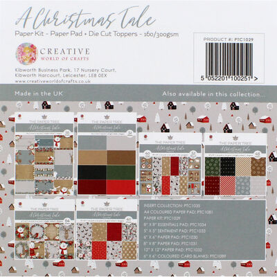 A Christmas Tale Paper Kit - 8x8 Inch image number 4