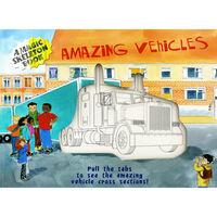 Amazing Vehicles - Magic Skeleton Book