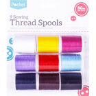 Sewing Thread Spools - 9 Piece image number 1