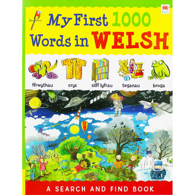 My First 1000 Words in Welsh image number 1