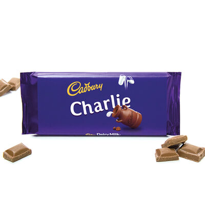 Cadbury Dairy Milk Chocolate Bar 110g - Charlie image number 2