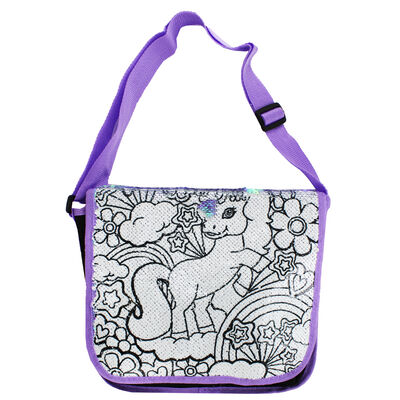 Colour Your Own Sequin Bag image number 2