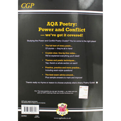 AQA Anthology of Poetry: Power and Conflict - The Poetry Guide image number 3