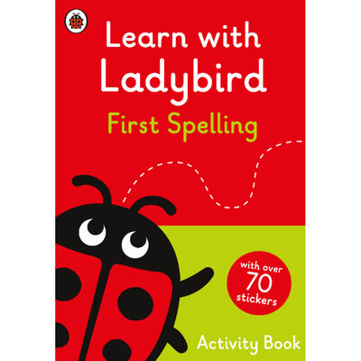 Learn With Ladybird: First Spelling Activity Book image number 1