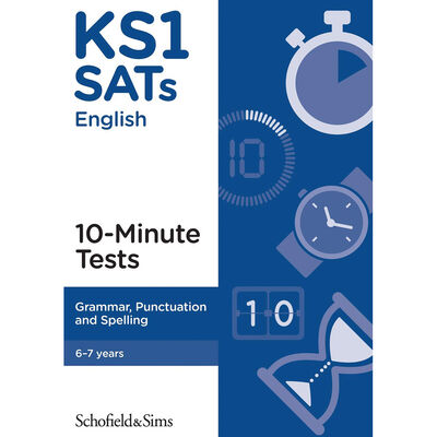 KS1 SATs Grammar Punctuation and Spelling: Ages 6-7 image number 1