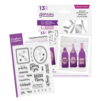 Gemini Create a Card - Bottles Up Collection image number 1