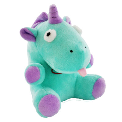 Snuggly Green Unicorn with Magical Sound Effect image number 1