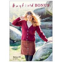 Hayfield Bonus DK: Cardigan Knitting Pattern 8288