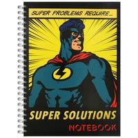 A4 Super Solutions Notebook