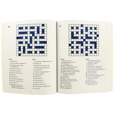 Floral Foil Crosswords Book image number 2