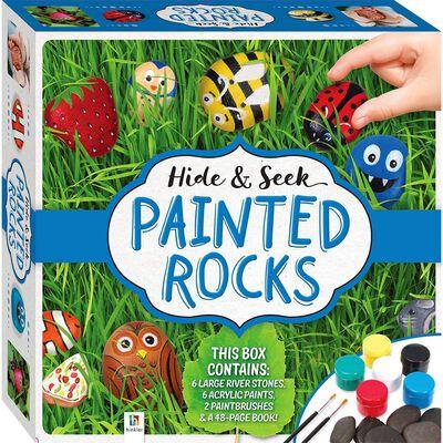 Hide And Seek Rock Painting Kit image number 1