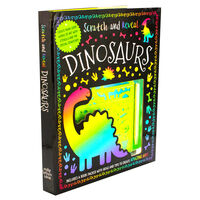 Scratch and Reveal: Dinosaurs