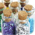 Mini Glitter Craft Jars - Set Of 8 image number 2