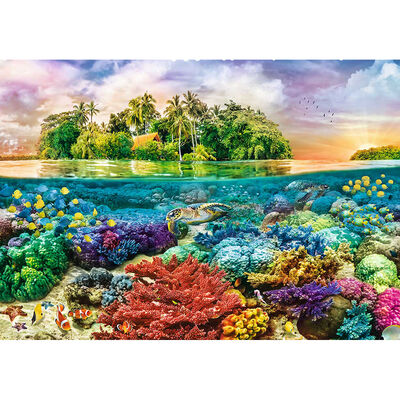 Tropical Island 600 Piece Jigsaw Puzzle image number 2