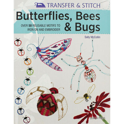 Transfer & Stitch: Butterflies, Bees & Bugs image number 1