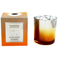 Gold Silver Berry Burst Scented Candle