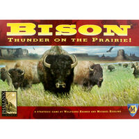Bison Thunder On The Prairie Board Game