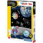 Space Explorer 104 Piece Jigsaw Puzzle image number 1