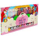 46 Piece Pencil and Eraser Set image number 1