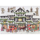 Cancer Research UK Charity Dickensian House Christmas Cards: Pack of 10 image number 2