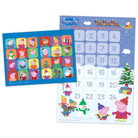 Peppa Pig Countdown to Christmas Advent Reward Chart