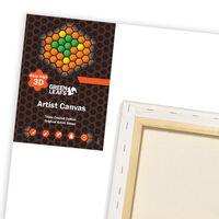 Green Leafs 3D Canvas 20 x 50cm