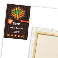 Green Leafs 3D Canvas 30 x 70cm