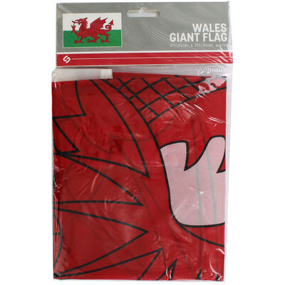 Wales Giant Flag - 3x2ft image number 1