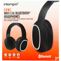 Intempo Wireless Superior Sound Bluetooth Headphones