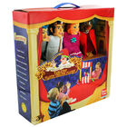 Cinderella Tabletop Plastic Puppets Theatre Playset image number 1