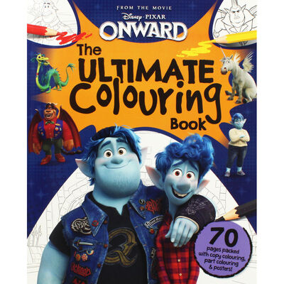 Disney Onward The Ultimate Colouring Book image number 1