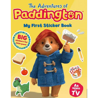 The Adventures of Paddington: My First Sticker Book image number 1