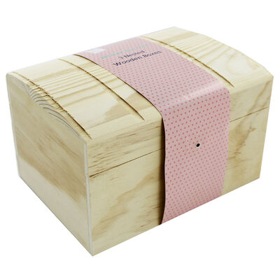3 Nested Wooden Chest Boxes image number 2