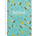 A5 Wiro Bee Lined Notebook image number 1