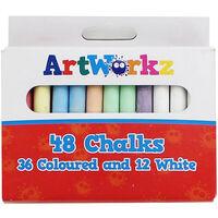 48 Colour Chalks